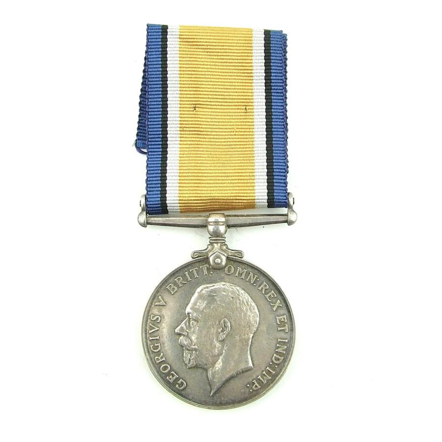 British War medal, M.W. Haddy, RNAS