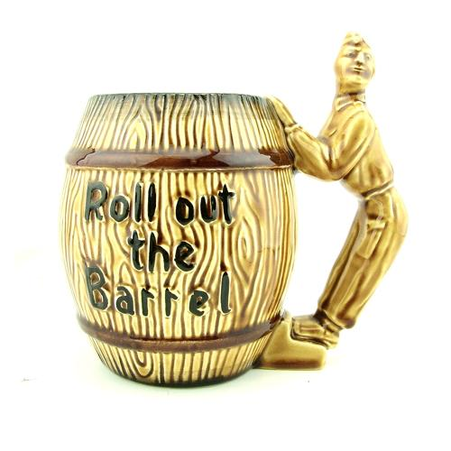 Roll out the barrel mug