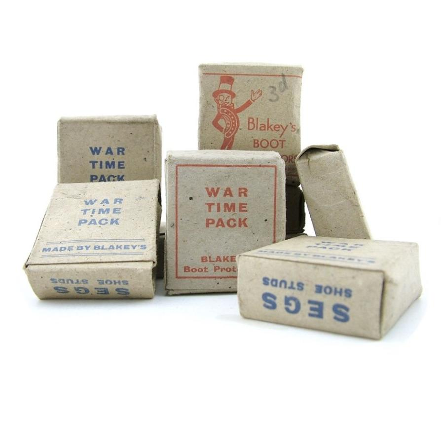 WW2 packs of boot & shoe studs