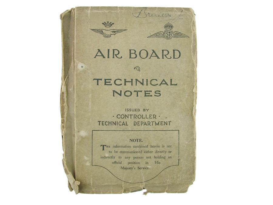 RFC / RNAS Air board technical notes
