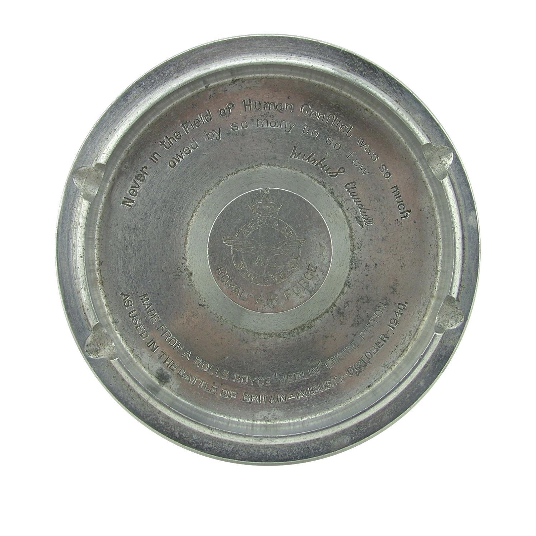 Battle of Britain 'Merlin' piston ashtray