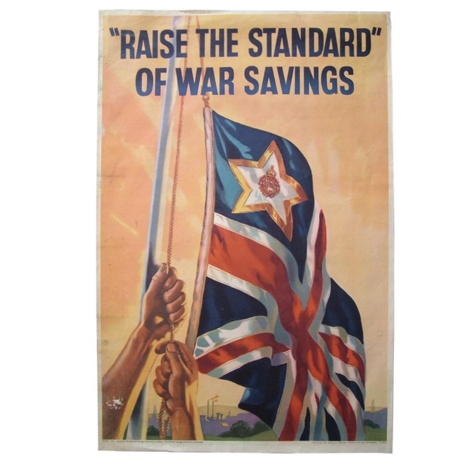 National war savings poster