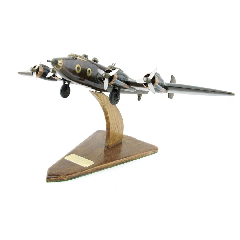 Halifax bomber model