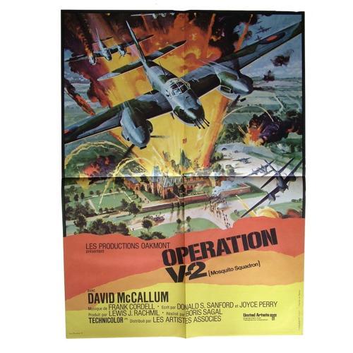 Original Mosquito Squadron film poster