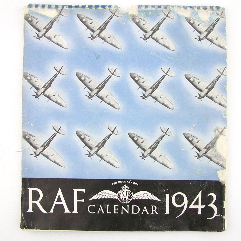 RAF calendar, 1943