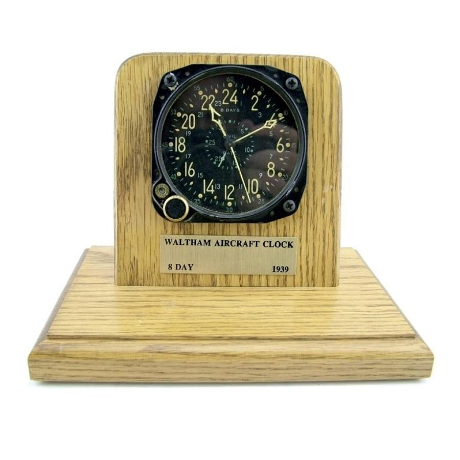 US Navy aircraft clock