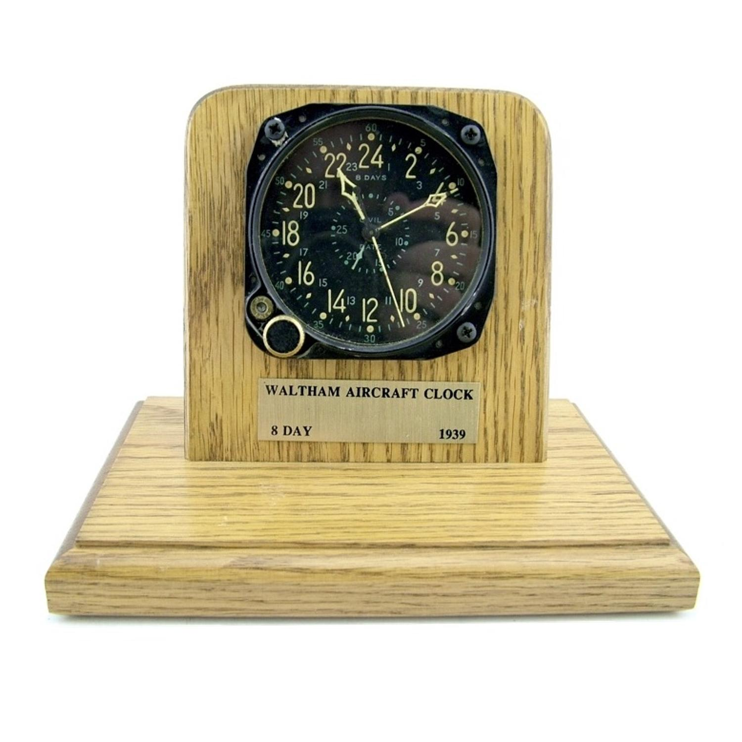 US Navy aircraft clock