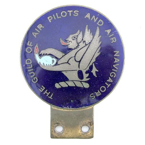 Guild of air pilots car badge