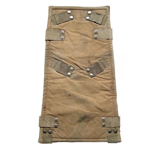 RAF parachute assembly backpad