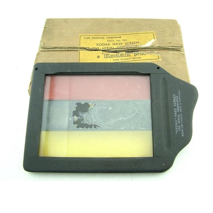 Kodak aerial observation haze screen