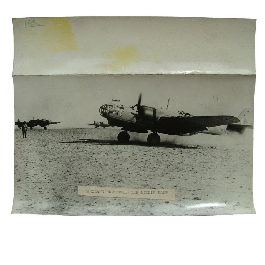 British press photo - Maryland bombers
