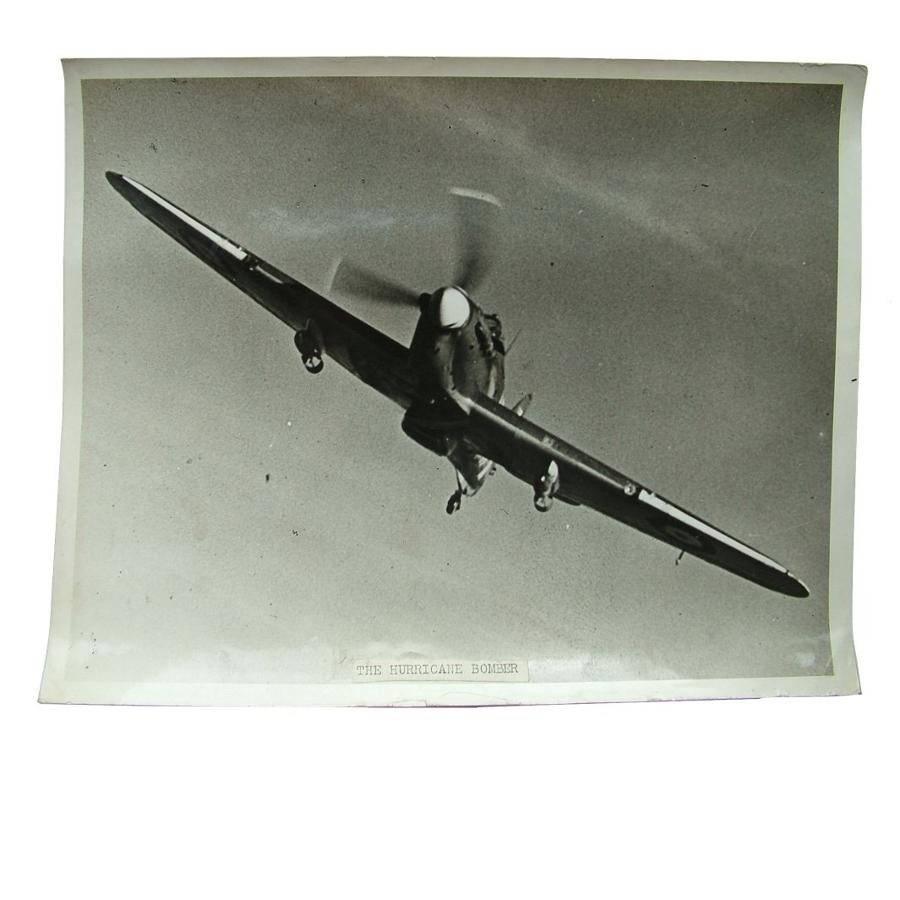 Official Air Ministry photo - Hurricane