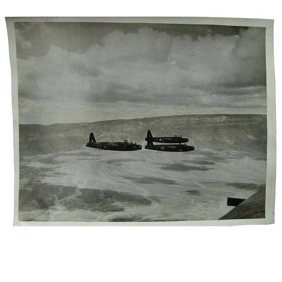 Press photo - Wellingtons bombers