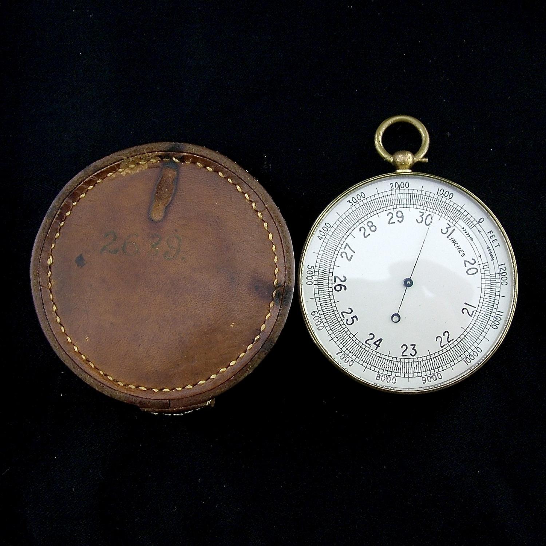 Air Ministry pocket barometer