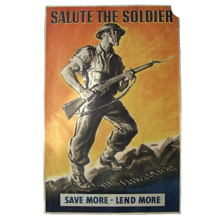 Salute the Soldier poster