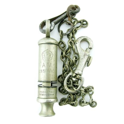 RAF / AM Mae West 'ditching' whistle