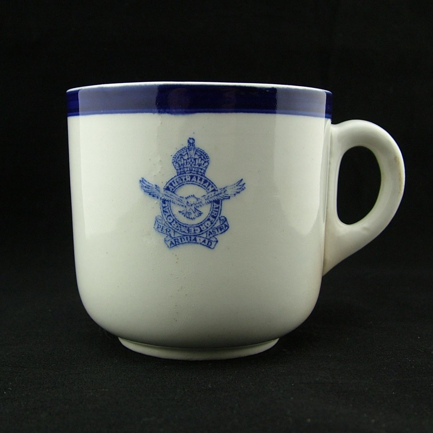 RAAF officers' mess tea cup