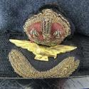 RAF officer rank service dress cap - picture 5