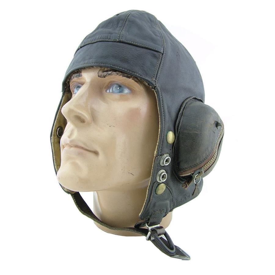 RAF B-type flying helmet, modified