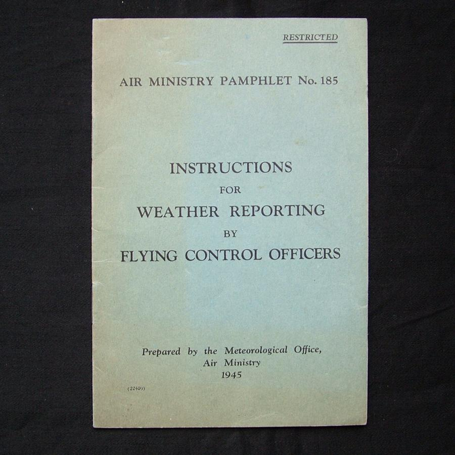 RAF weather reporting instructions