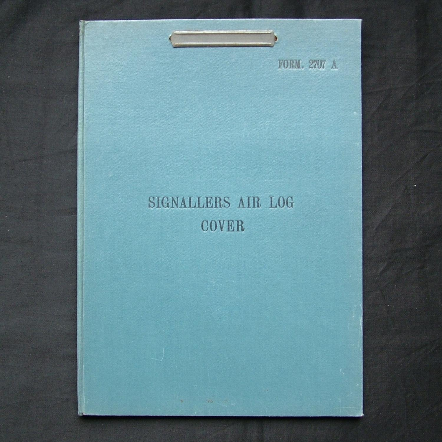 RAF Signallers air log cover
