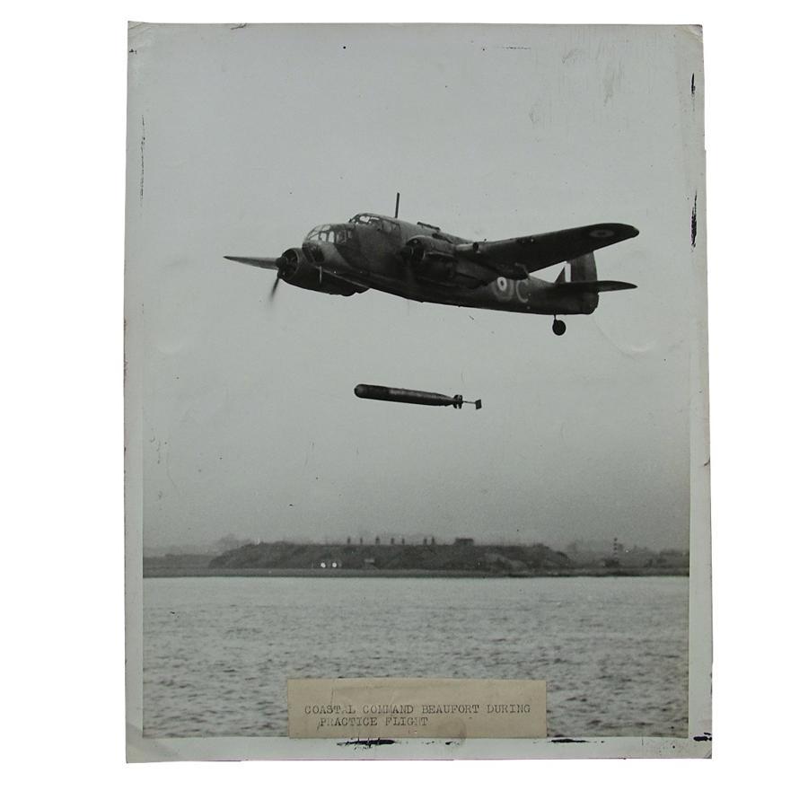 Press photo - Coastal Command Beaufort