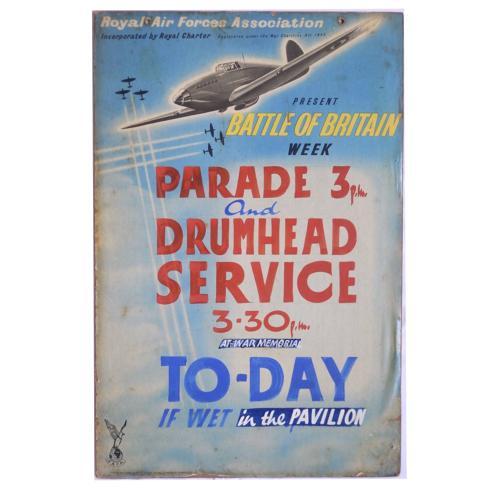 Battle of Britain Week Poster
