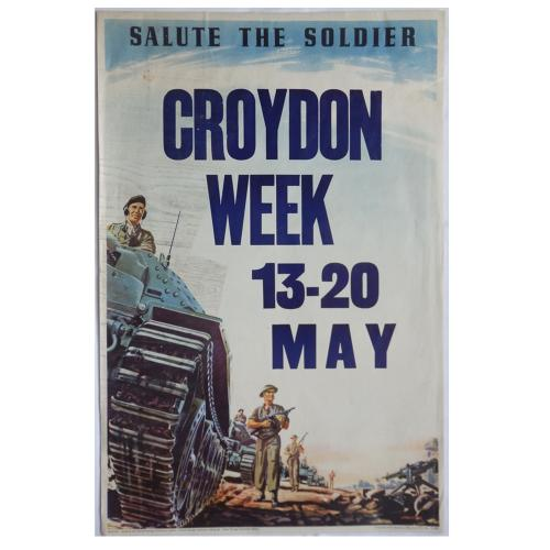 Salute the Soldier Croydon poster