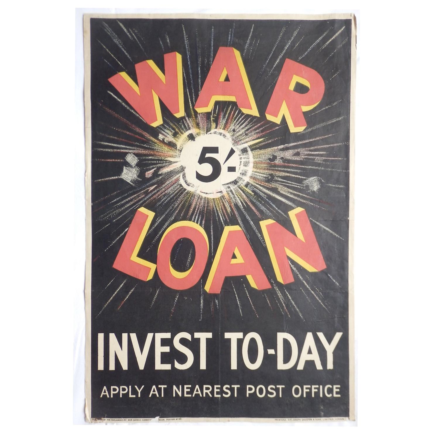 WW1 Savings Poster