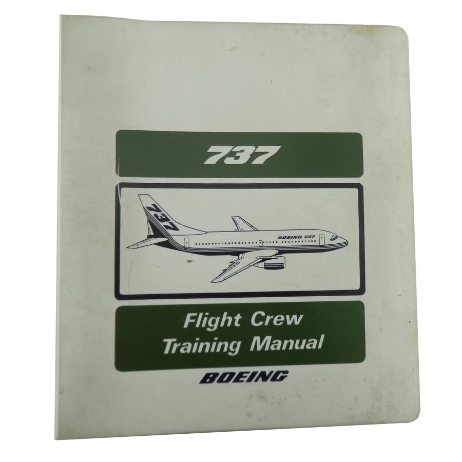 Boeing 737 flight crew training manual