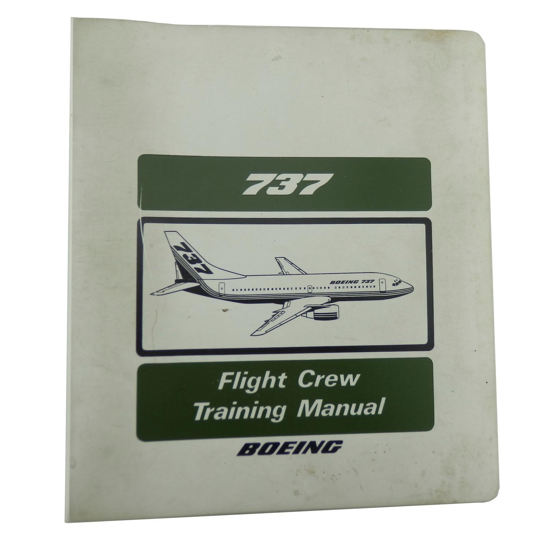 Boeing 737 flight crew training manual