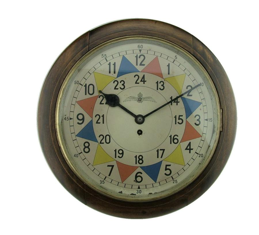 RAF station Type 1 Sector clock with rare dial
