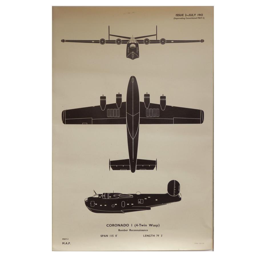 RAF recognition poster - Coronado I