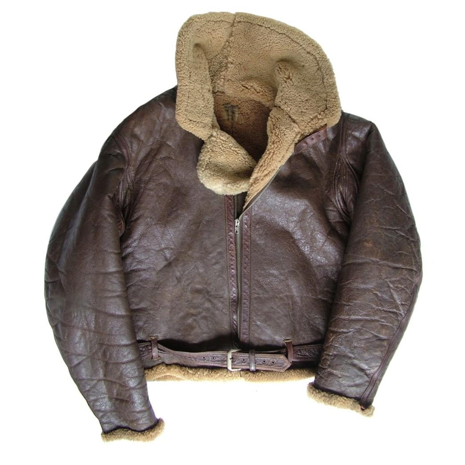 RAF Irvin flying jacket - very early example