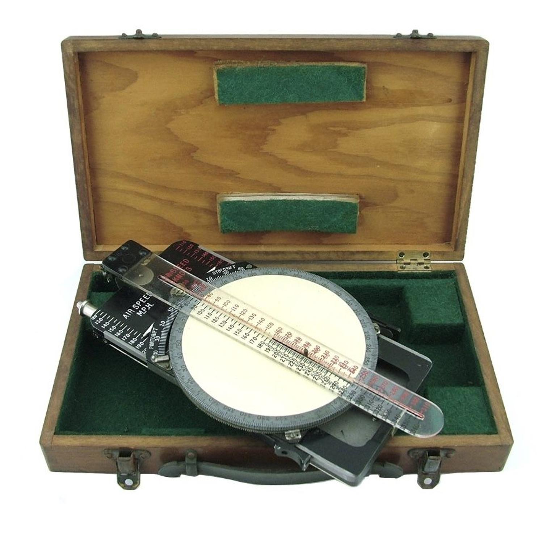 RAF course & speed calculator Mk.IIA, cased
