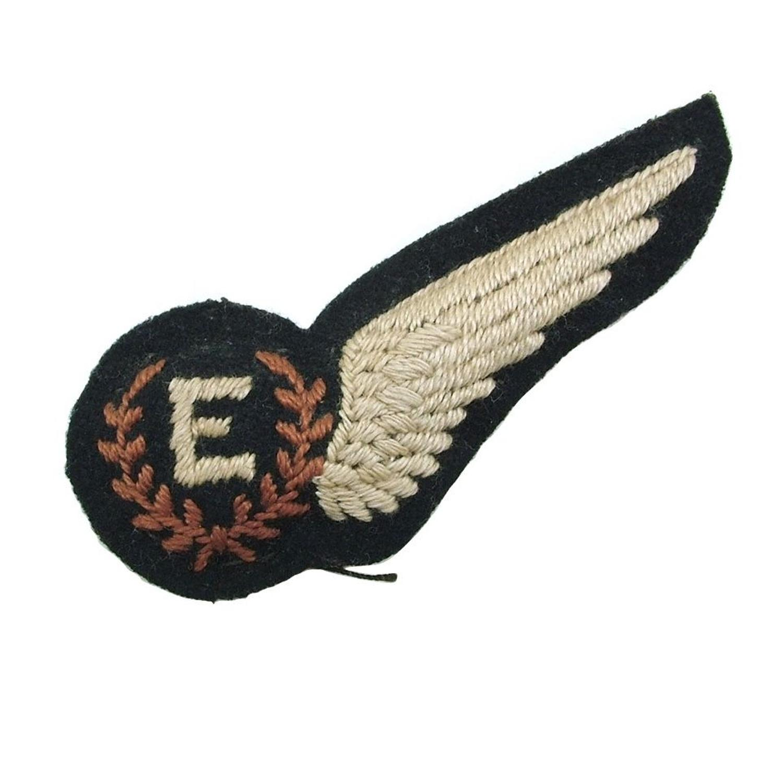 RAF flight engineer brevet