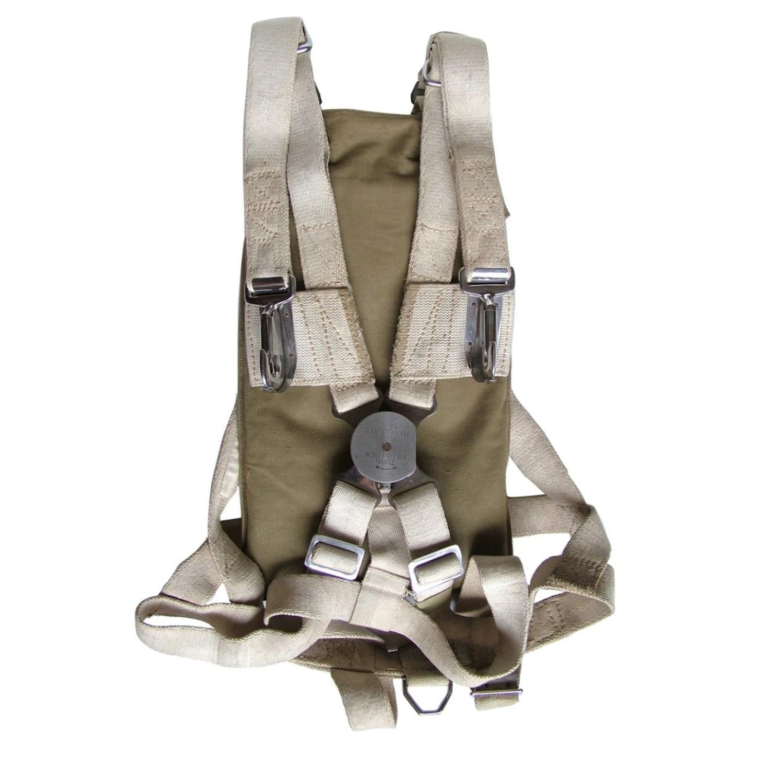 RCAF Observer parachute harness