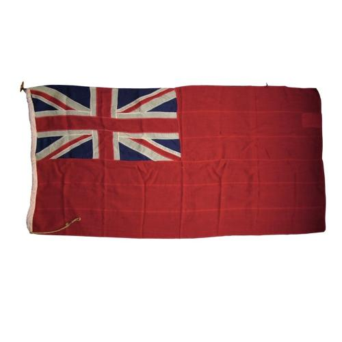Royal Navy red ensign