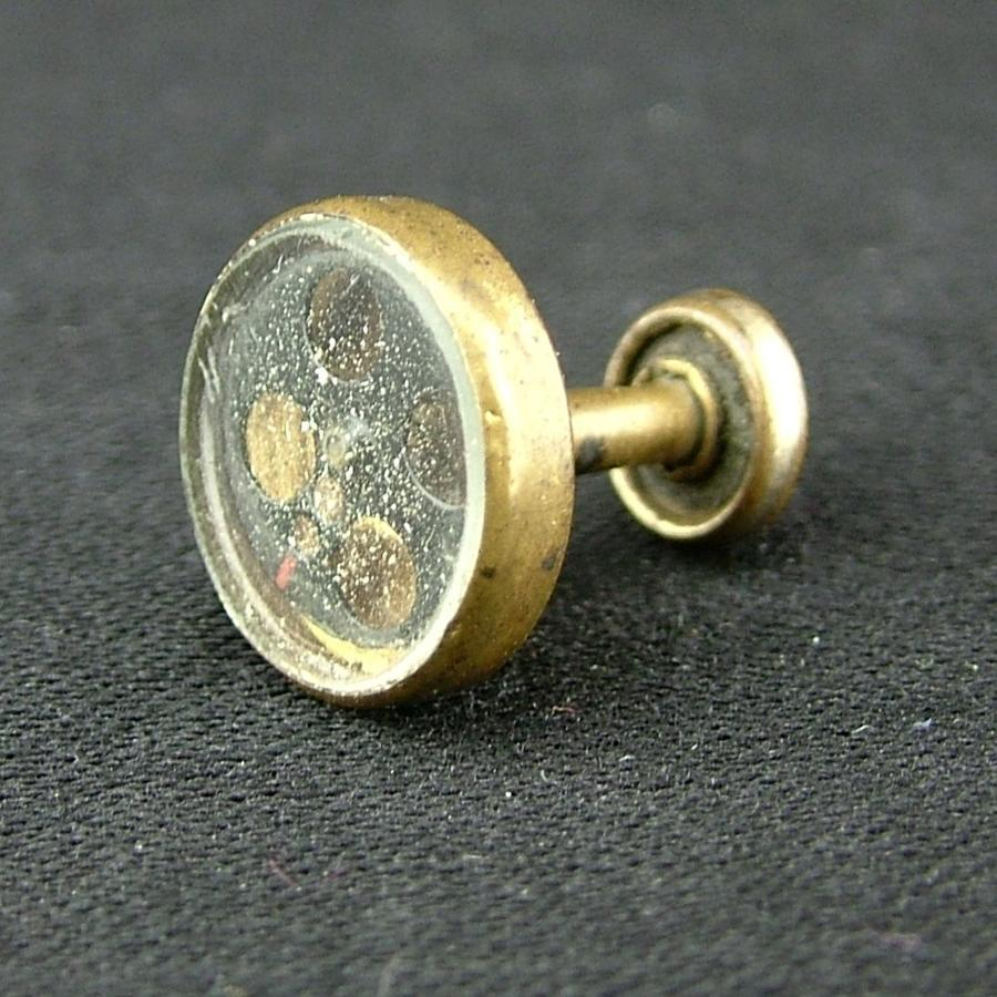 RAF / SOE collar stud compass