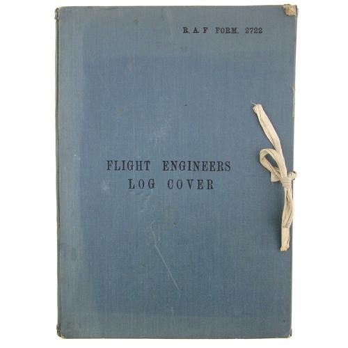 RAF Flight Engineer's Log Cover