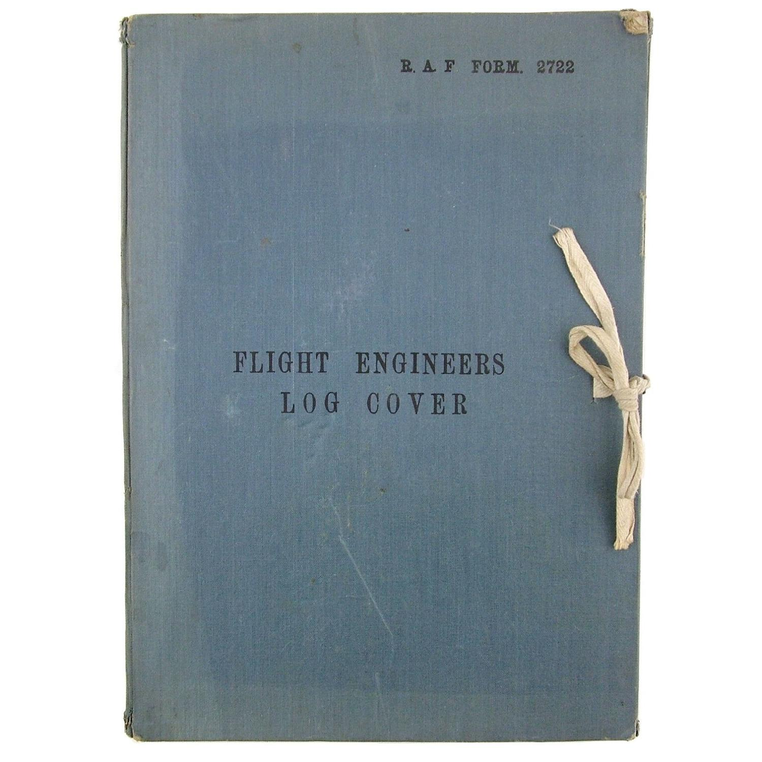 RAF Flight Engineer's Log Cover