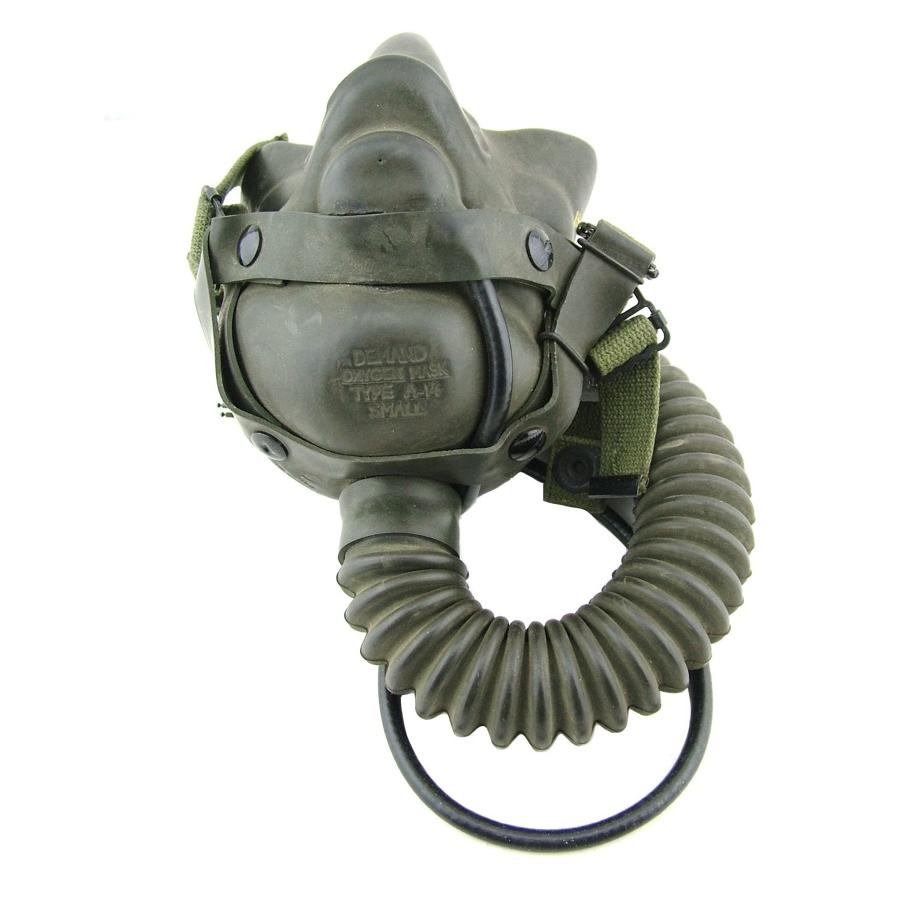 USAAF A-14 oxygen mask, 8th AAF modification, wired
