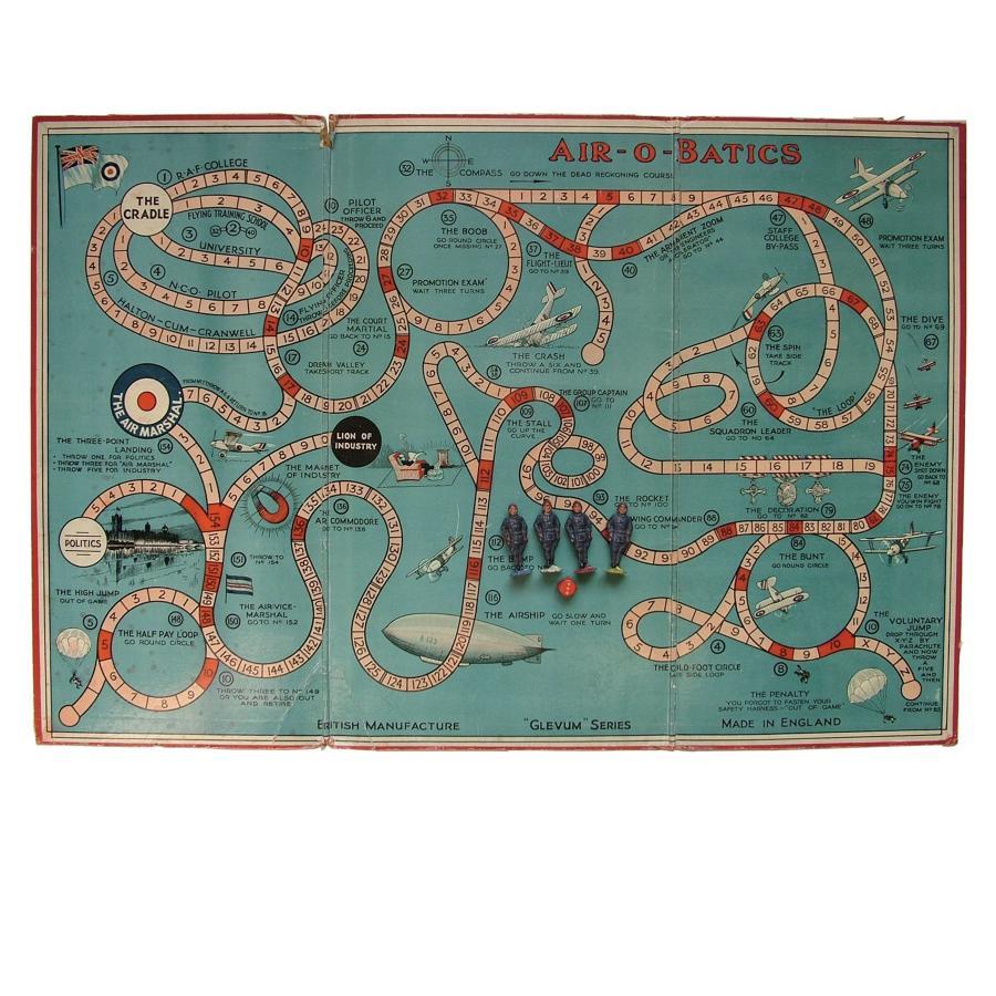 1930s Air-O-Batics board game