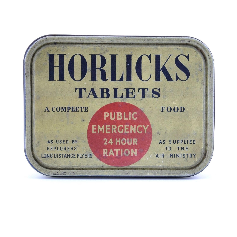Horlicks Emergency 24 Hour Ration Tin - Full