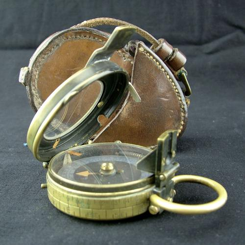 WW1 British Army Verners MK.VII marching compass - history