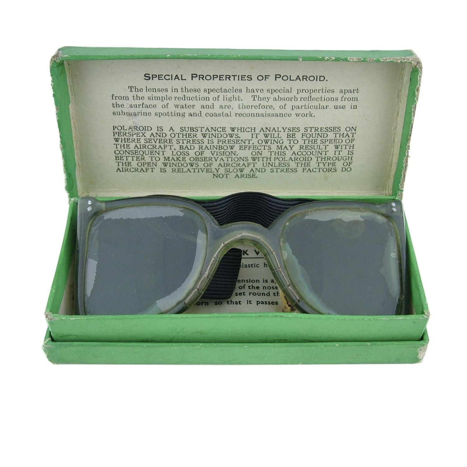 RAF MK.VI flying spectacles, boxed