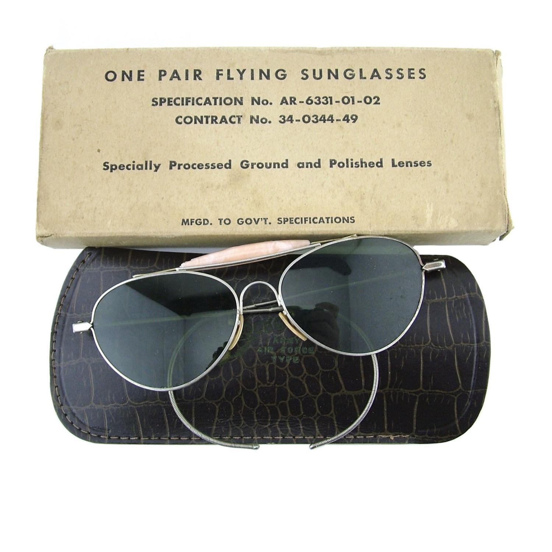 USAAF sunglasses, boxed