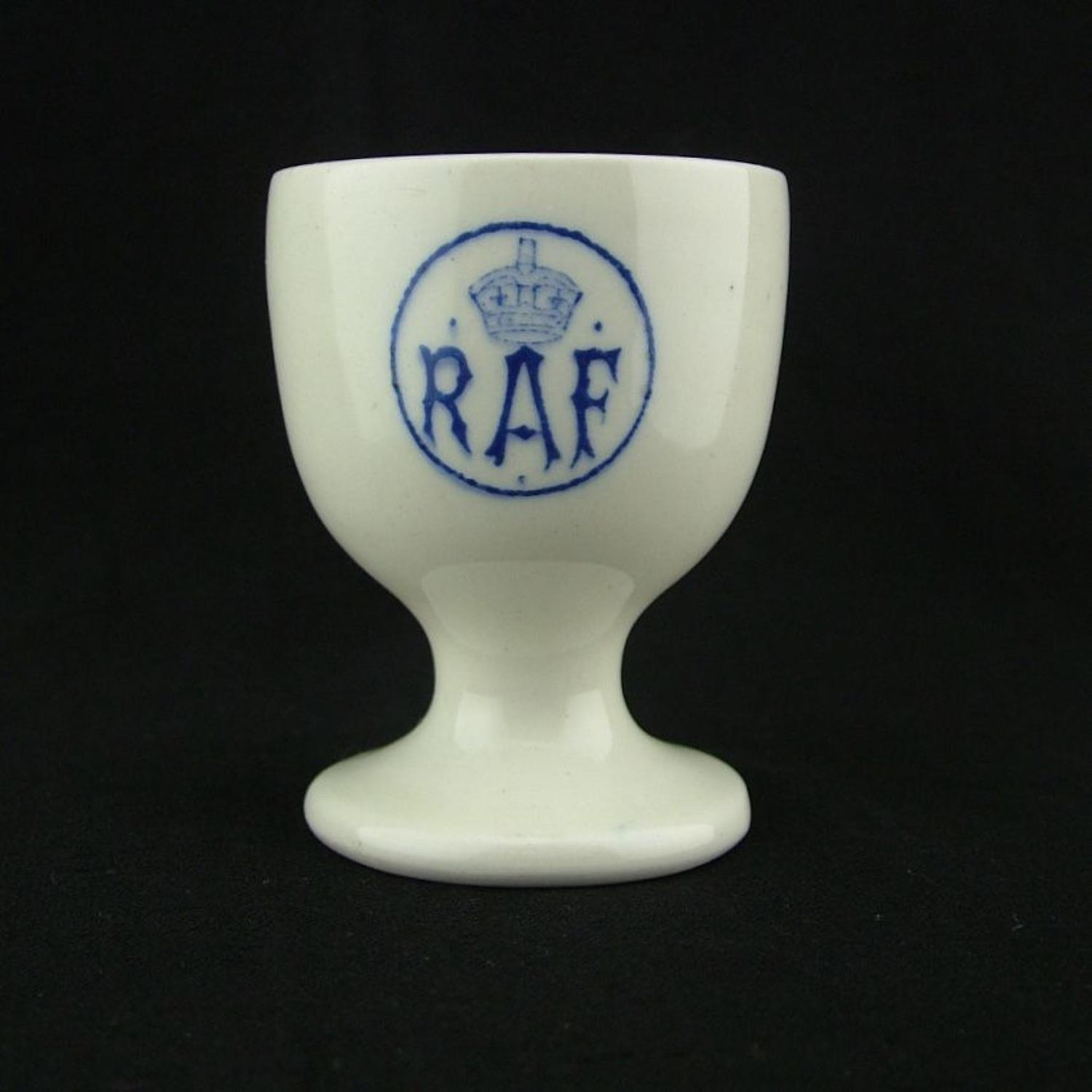 RAF station other ranks egg cup