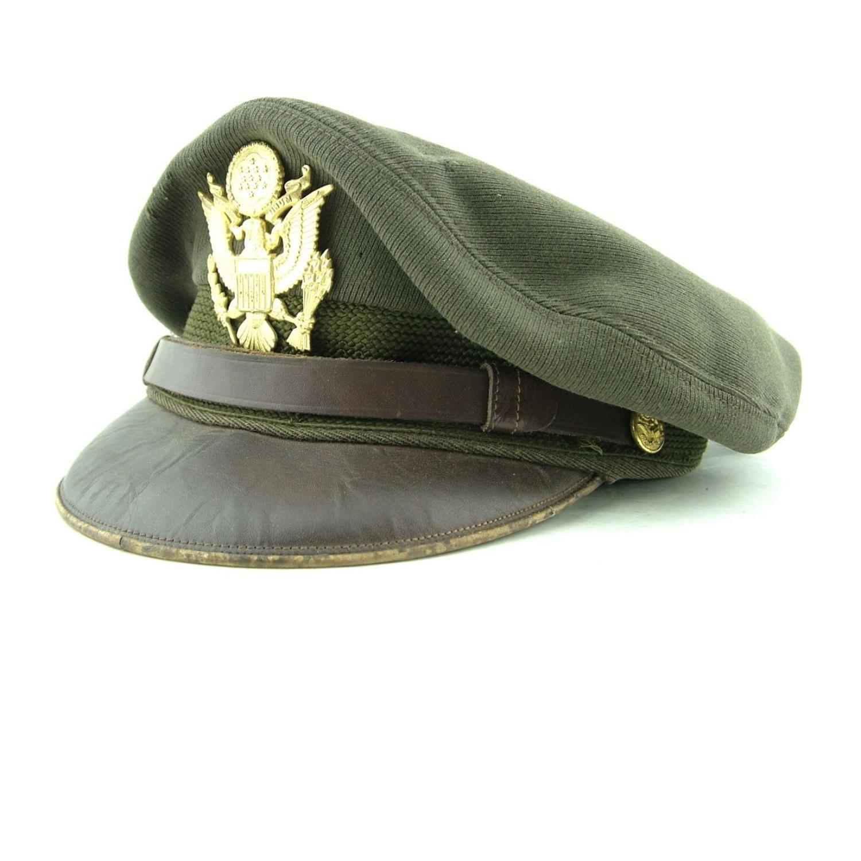 USAAF Bancroft 'crusher' visor cap