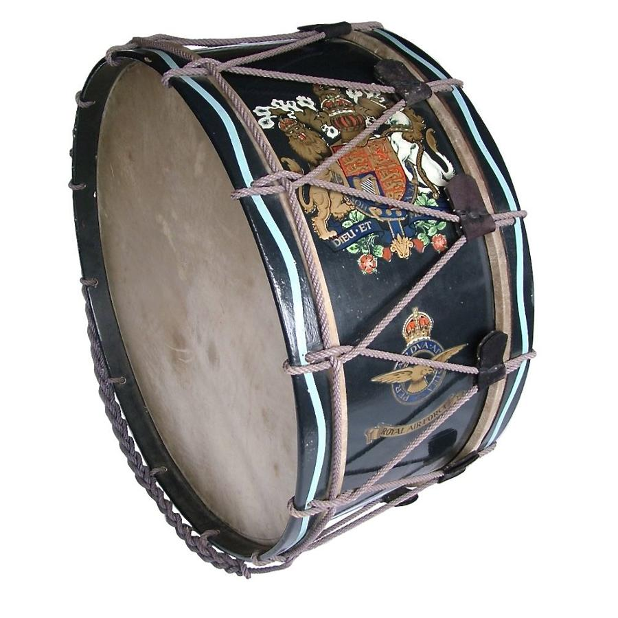 RAF Band Bass Drum